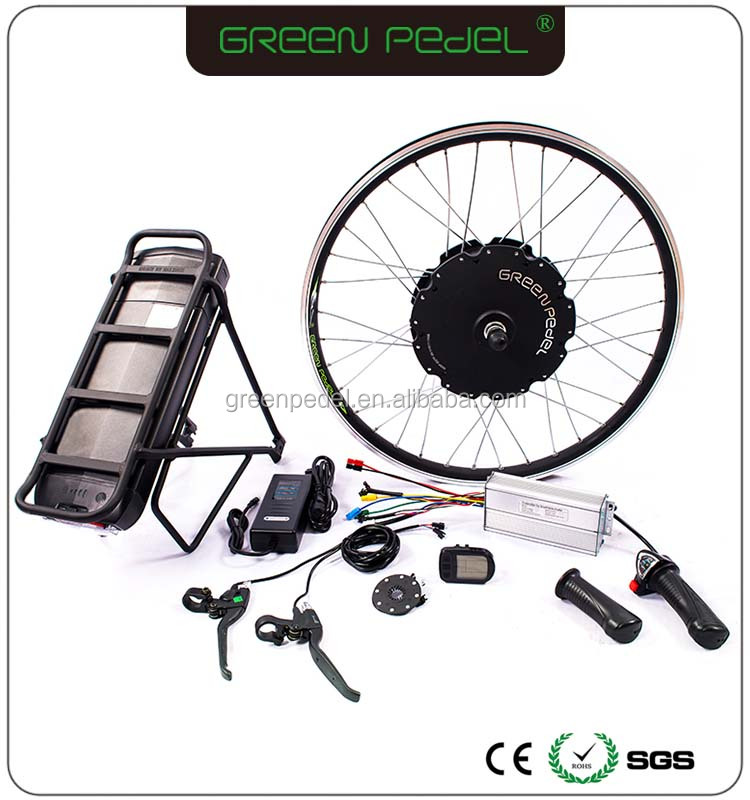 Ebike E-bike Conversion Kit Electric Bike Motor Kit Rear Drive 500W-1000W Hub