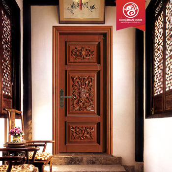 Old antique carve indian main front door designs india for Big main door designs