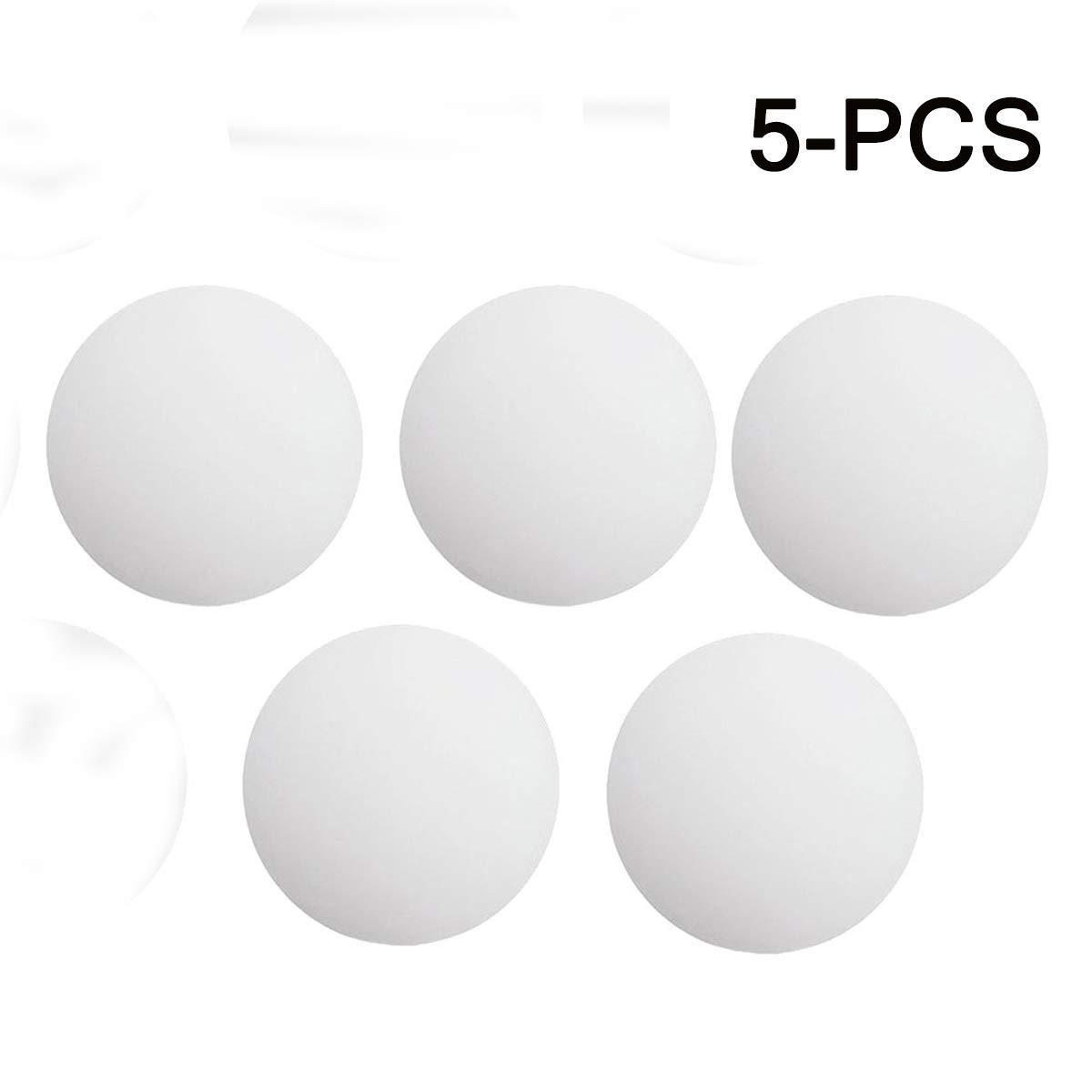 Xelparuc 5Pcs Silicone Door Stopper Wall Protectors, Self Adhesive Door Handle Bumper, Guard Stopper Rubber Stop for Door Knob, Kitchen, Office(White)
