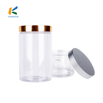 250 ml 800 ml wholesale clear plastic jar for cosmetic