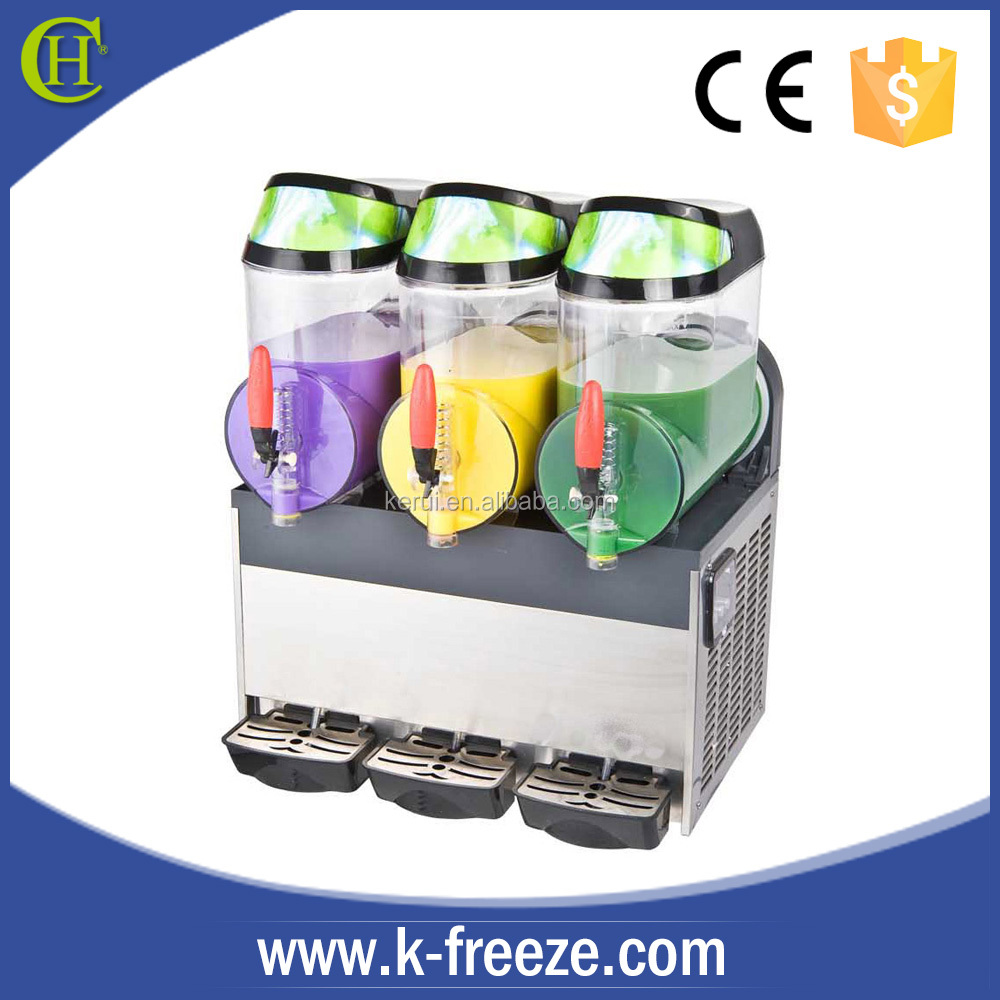 home slush machine granita 3 Bowls you like slush machine for sale