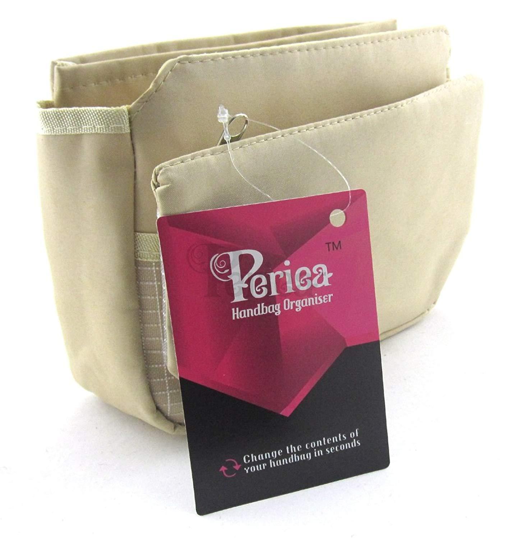 Periea Handbag Organizer Insert Liner 9 Pockets Tegan