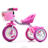 China hotsale lightweight cheap baby tricycle bicycle children 3 wheels
