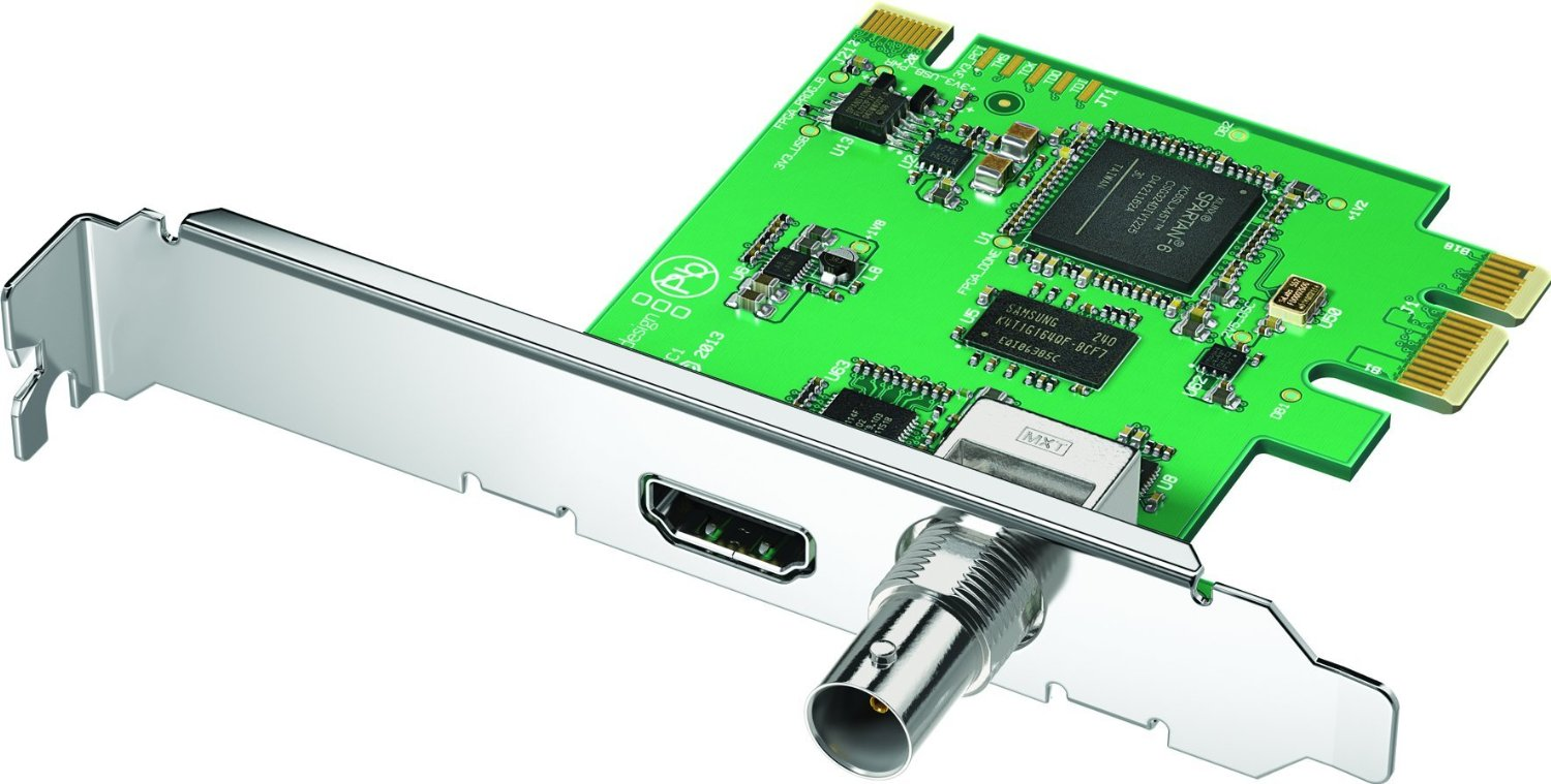 Buy Blackmagic Design Decklink Mini Recorder Pcie Capture Card For 3g Sdi And Hdmi In Cheap Price On Alibaba Com