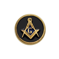custom lapel pin badge manufacturers china freemason pin with logo gold magnetic back masonic art metal crafts