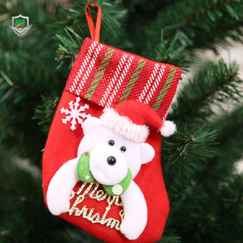 2018 New Fashion Wholesale Santa Claus Stockings Decorative Christmas Tree Hanging Outdoor Socks Decoration Buy Outdoor Christmas Socks