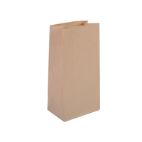 New Design Custom Black Die Cut Handle Kraft Food Grade Paper Bag
