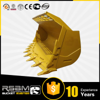 Fast delivery hardox loader bucket flood light 5 years warranty