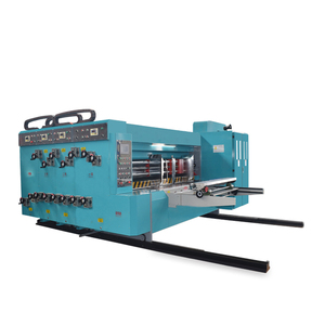 Flexo printer slotter and die cutter machine from hebei