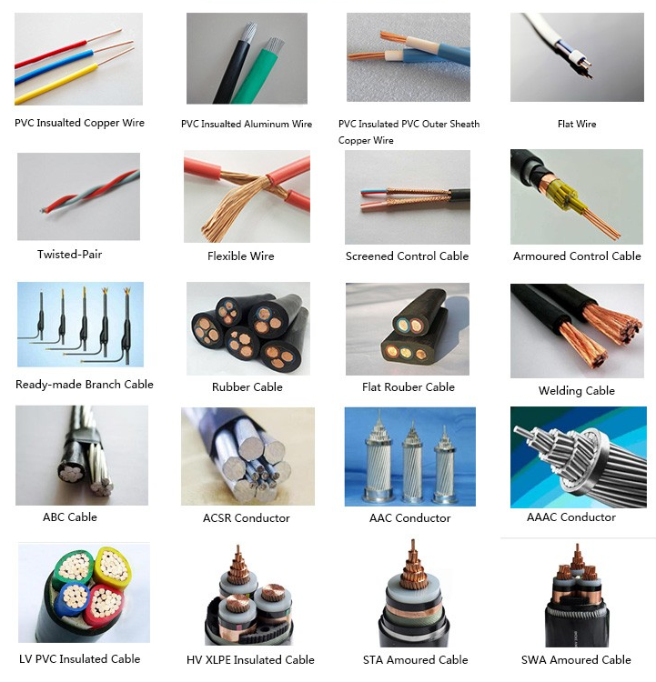 0.6/ 1kv ,five cores, cu or al/xlpe/pvc/swa/pvc power cable