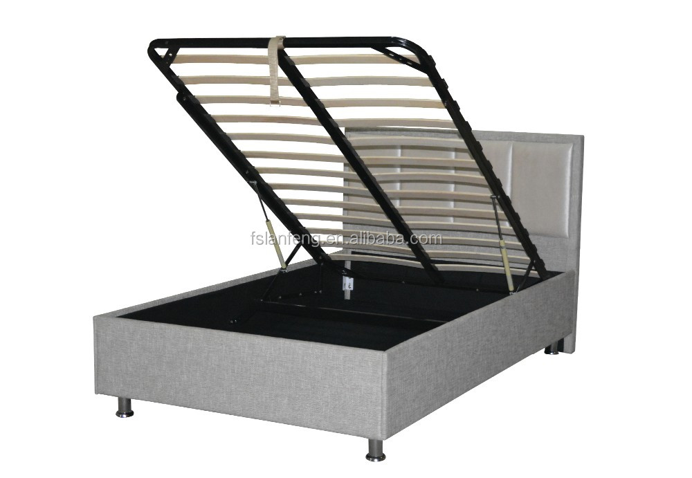 Hydraulic Lift Storage Bed Twin : New design hydraulic lift up storage bed frame for