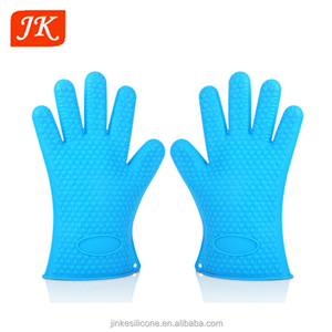 customized food save grade heat resistant silicone rubber gloves