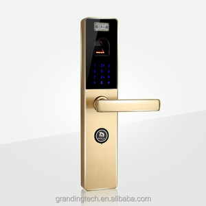 DIY biometric sensor fingerprint scanner door lock with remote control function