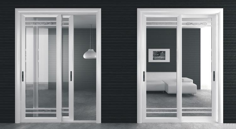 Sliding open aluminum frame glass door parts buy for Sliding glass doors germany