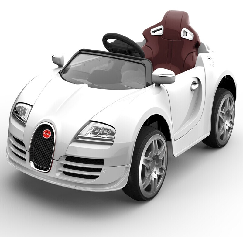 Newest Bugatti Licensed 12 Volt Electric Car Toy For Kids