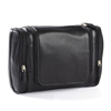 Popular leather waterproof business casual cosmetic bag for men