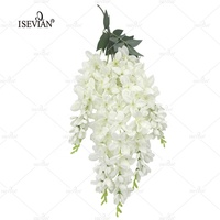 ISEVIAN Decorative Artificial Wisteria Flower Making Factory in China