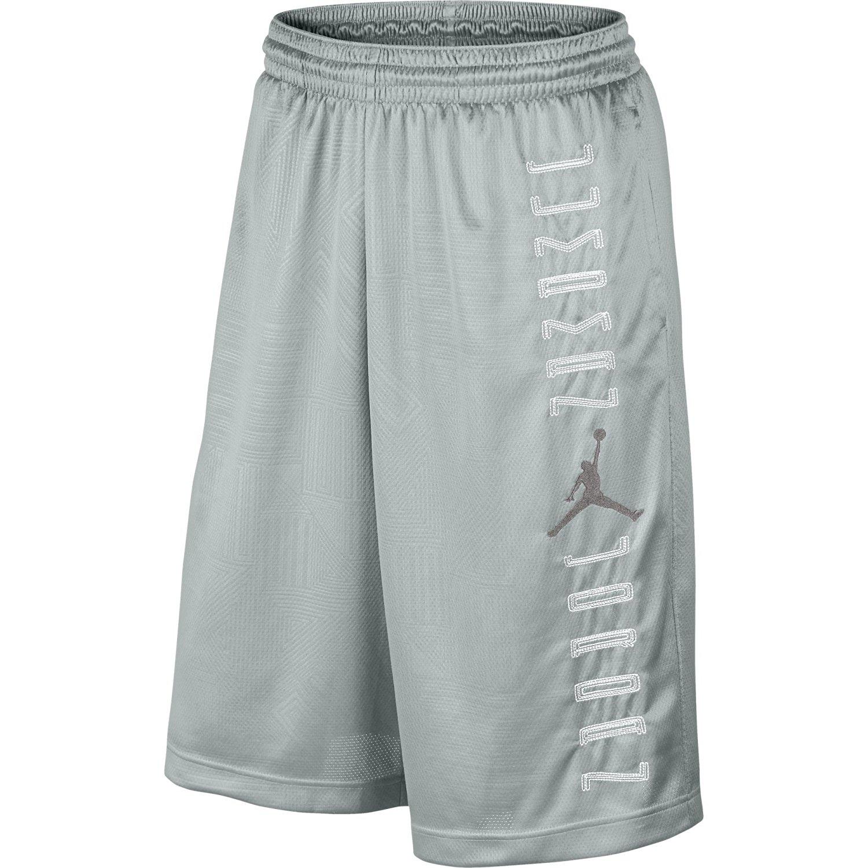 be39cb6126f0de Get Quotations · Air Jordan Retro 11 Men s Basketball Shorts Grey Mist White Dust  658514-076