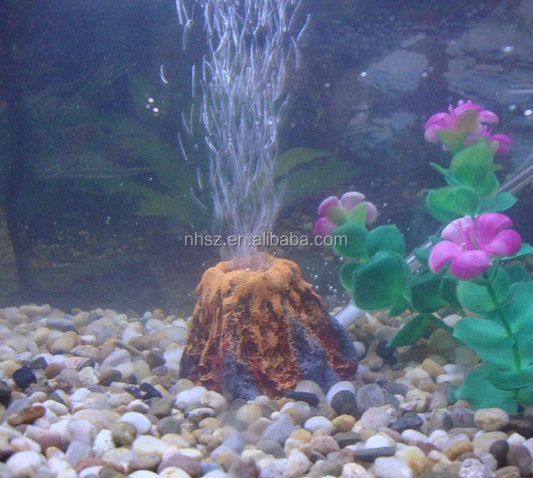 volcn shell stean resina acuario decorar