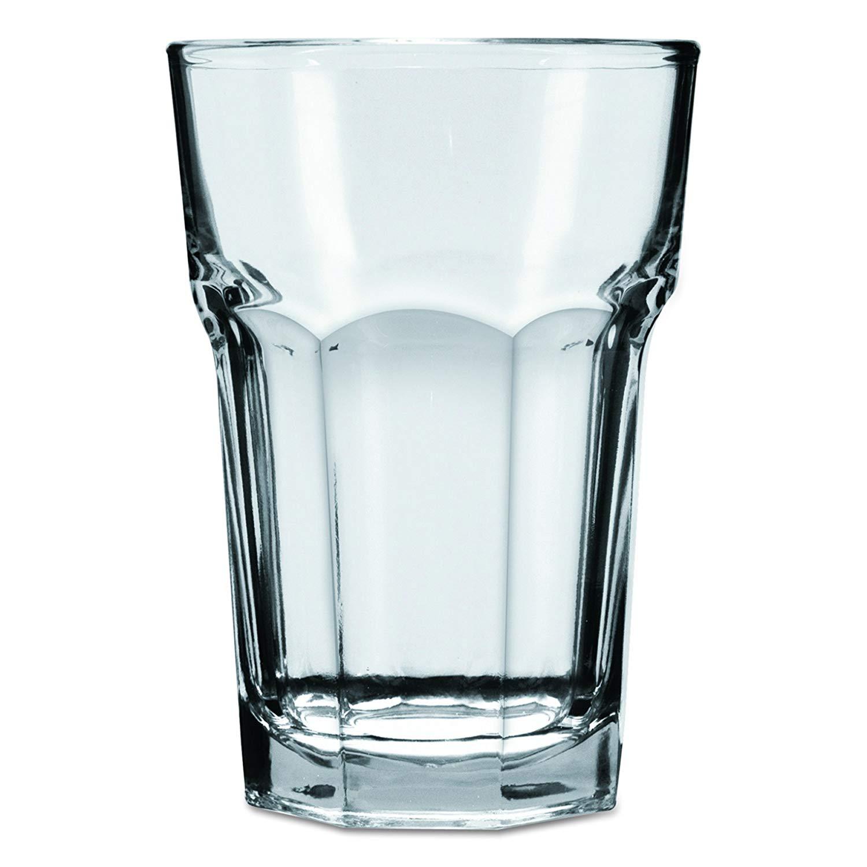 "Anchor Hocking 7745U 3-5/8"" Diameter x 5-1/8"" Height, 14 oz New Orleans Iced Tea Glass (Case of 36)"
