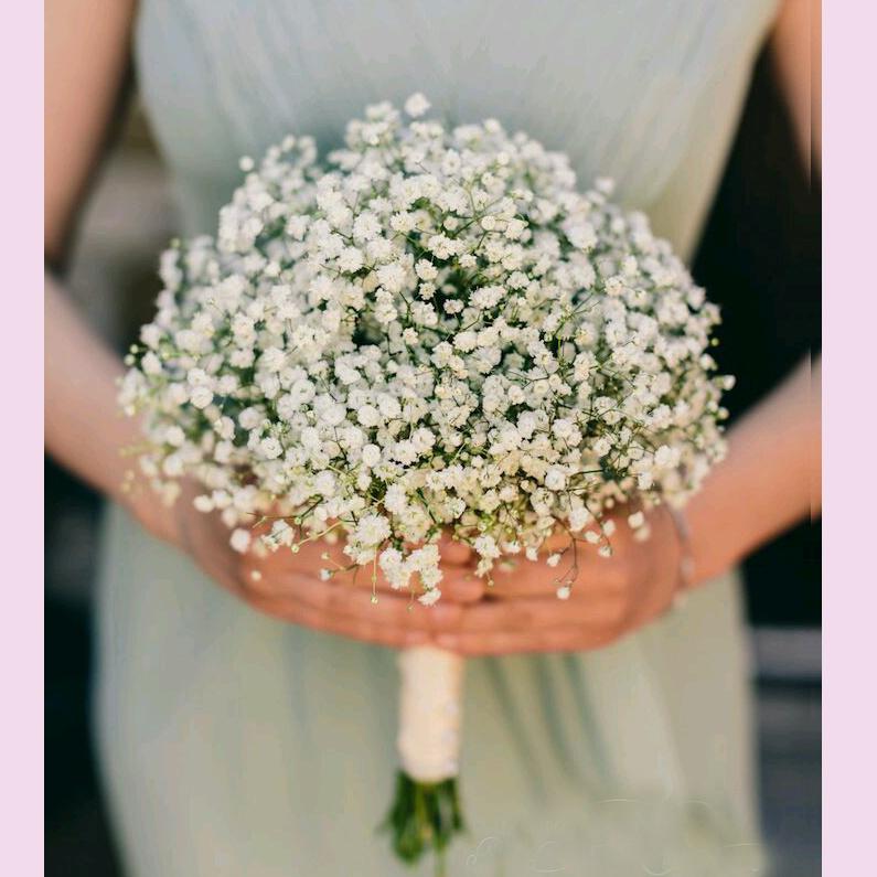Customerzied Aritificial Schleierkraut Paniculata Hochzeit Bouqout