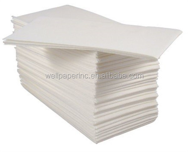 Cloth Like Guest Towels 12x17 Inches 1 6 Fold White