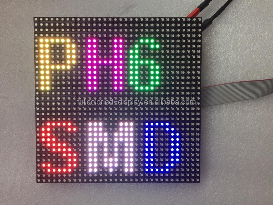 Hd video p8 verhuur scherm outdoor p10 smd 320*160mm led module programmeerbare teken bericht board