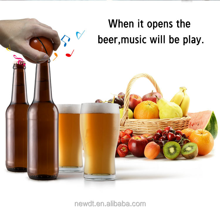 2018 New Basket Ball gifts Talking Beer Opener  with FREE STOCK