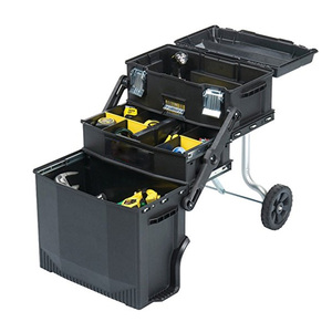 Stanley 4-in 1 trolley mobile work station for tools and parts