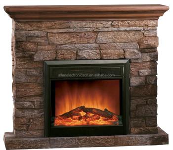 Indoor Polystone Electric Fireplace,Chimenea Electrica - Buy ...