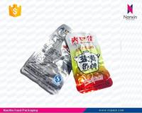 aluminum foil packaging vacuum bag for cooked food