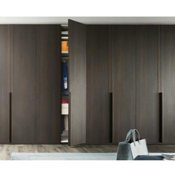 Mdf European Style Custom Closet With Doors