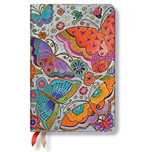 Flutterbyes - 2016 Paperblanks Weekly Planner (Mini 4 x 5.5 Horizontal)