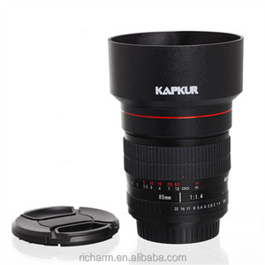 85mm f/1.4 Portrait camera lens