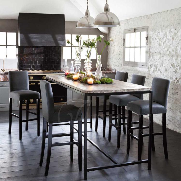 dachboden american country m bel stil eisen kiefer esstisch table hoch ende couchtisch. Black Bedroom Furniture Sets. Home Design Ideas