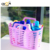 PP Plastic Vegetable strainer plastic food basket, rice washing storage basket plastic draining basket with handle