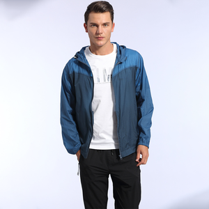 High quality factory direct sales summer ultra thin quick drying windproof windbreaker jackets men
