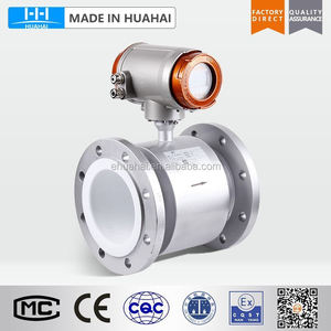 Intelligent electromagnetic liquid flow meter instrument