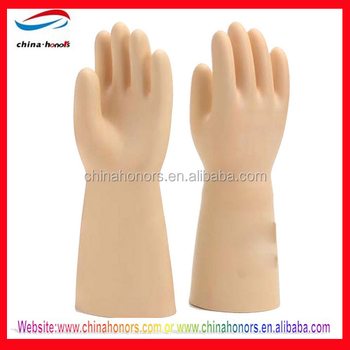 high voltage electrical gloves/electrical insulation gloves