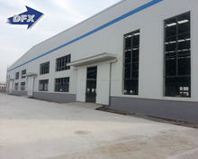 hot rolled H section steel column and beam prefabricated steel structure workshop and warehouse and office