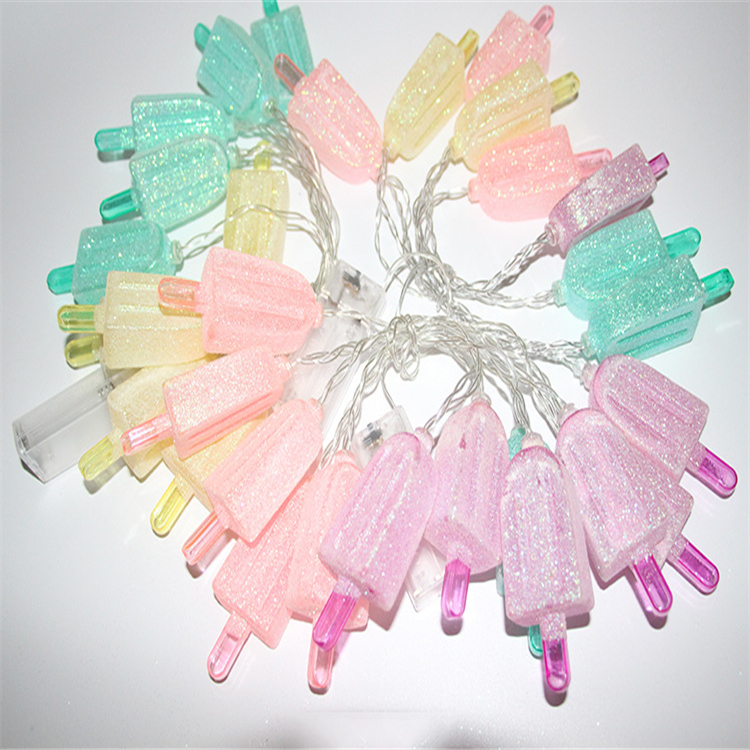 Popsicle Ice Lolly shaped LED String Lights home decro Low-cost manufacturers holiday lights