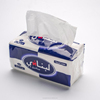 wholesale soft sanitary polybag plastic box facial tissue paper