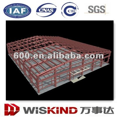 prefabricated steel structure workshop 1