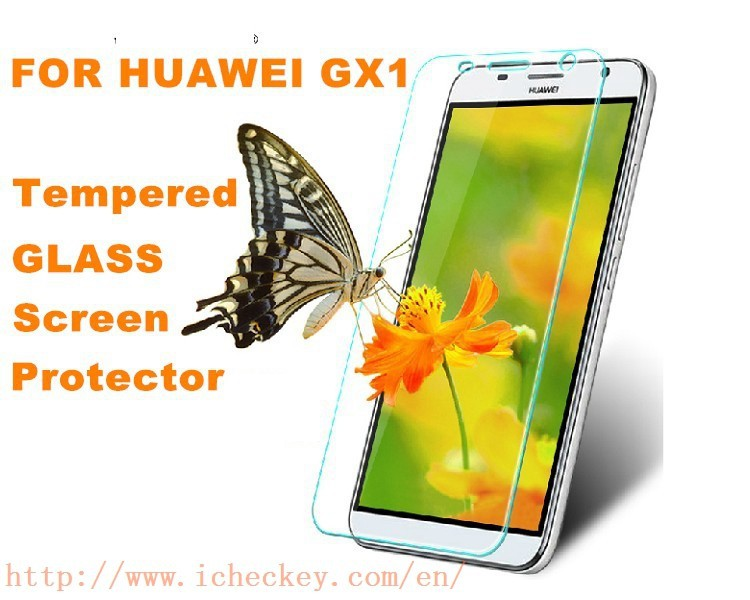 clear screen protector facoty direct sell huawi gx1 tempered glass screen protector clear transparent