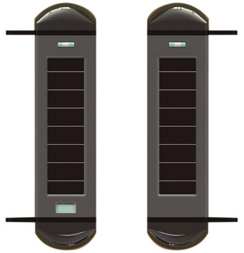 Gate Alarm Wireless Driveway Alarm With Solar Powered