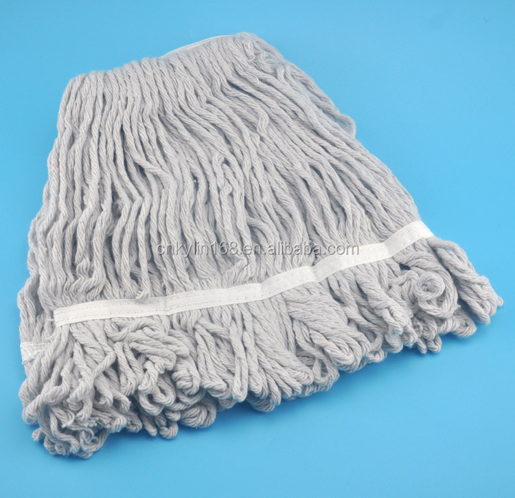 Cotton/microfiber mop head spin mop for floor cleaning