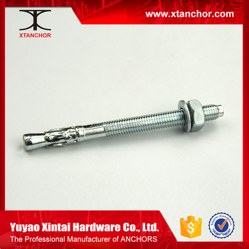Anchor Systems M6*60 Wedge Anchor Factory Price Chemical high temperature  steel Wedge Anchors bolts