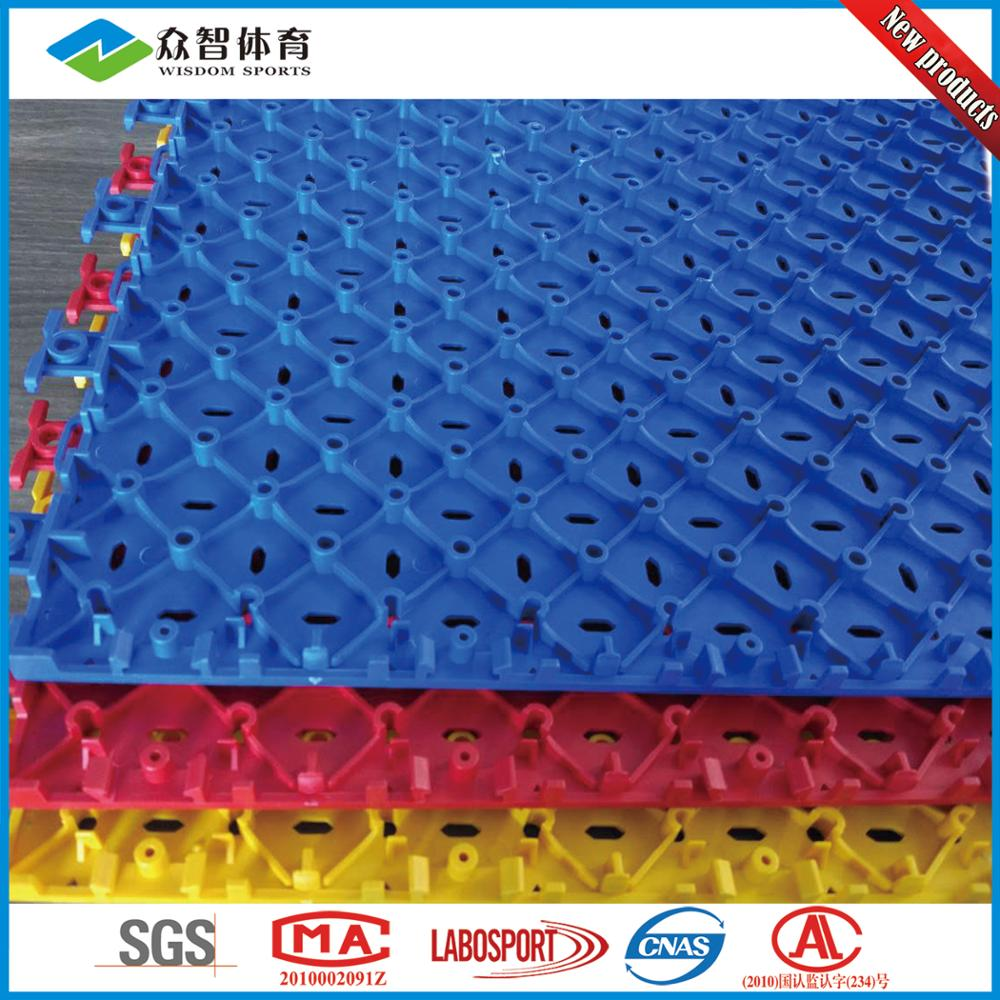 Outdoor Pp Interlocking Plastic Floor Tiles Basketball Court Sport ...