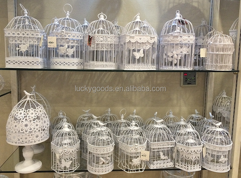 Elegant Decorative Big Bird Cage For Wedding Or Decoration