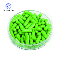 China supplier red white vegetable empty capsules size 0